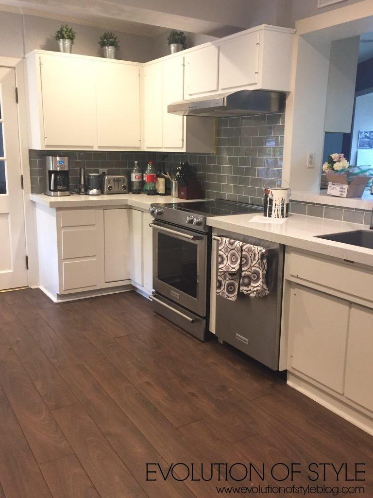 Wallpaper Kitchen Update