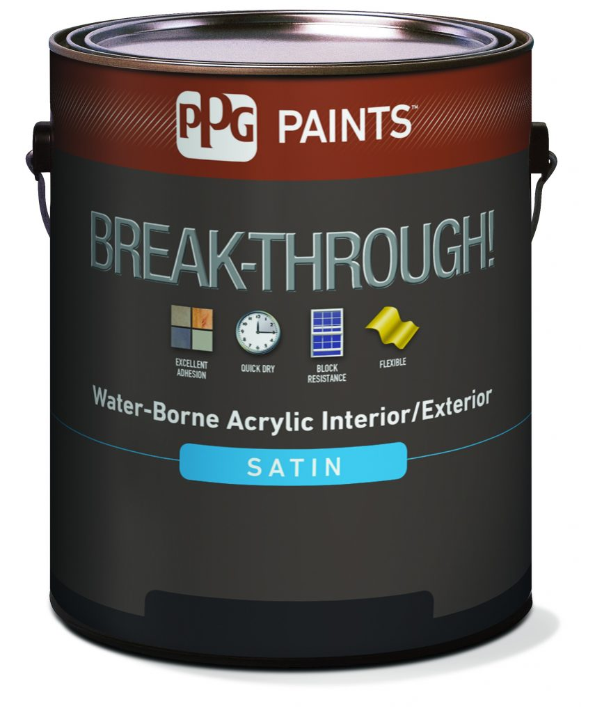 PPG Breakthrough for Painting Cabinets