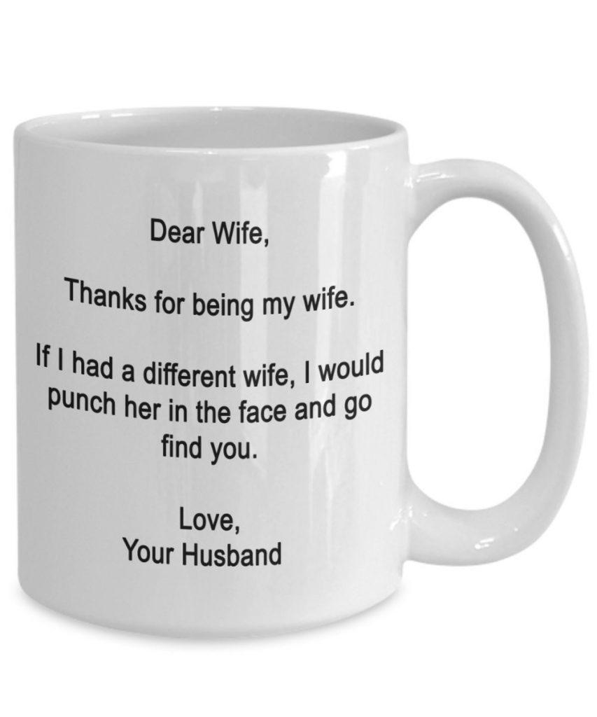 Dear Wife Coffee Mug