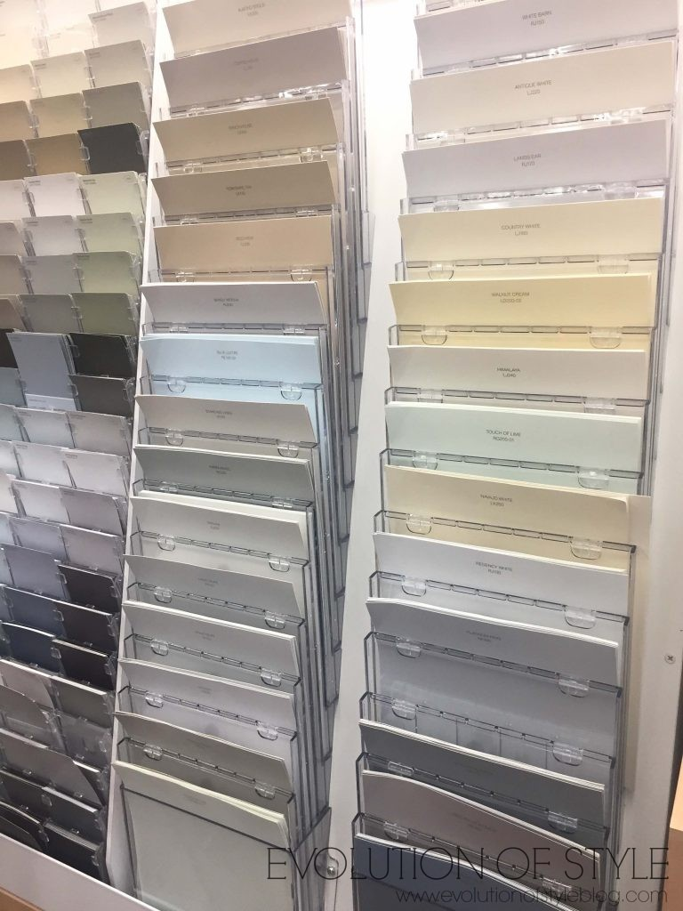 Large Paint Samples - Awesome Idea!