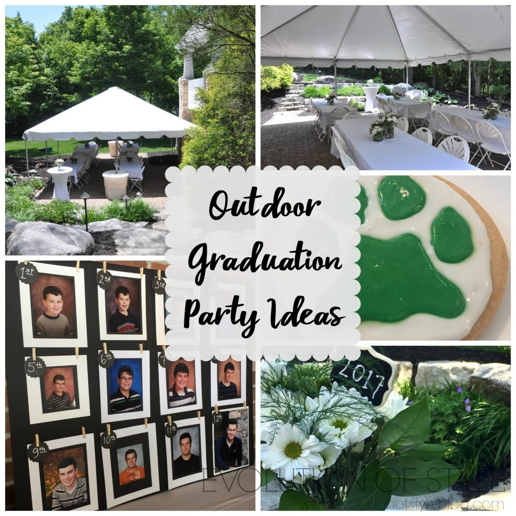 Ideas For Backyard Parties: Outdoor Graduation Party