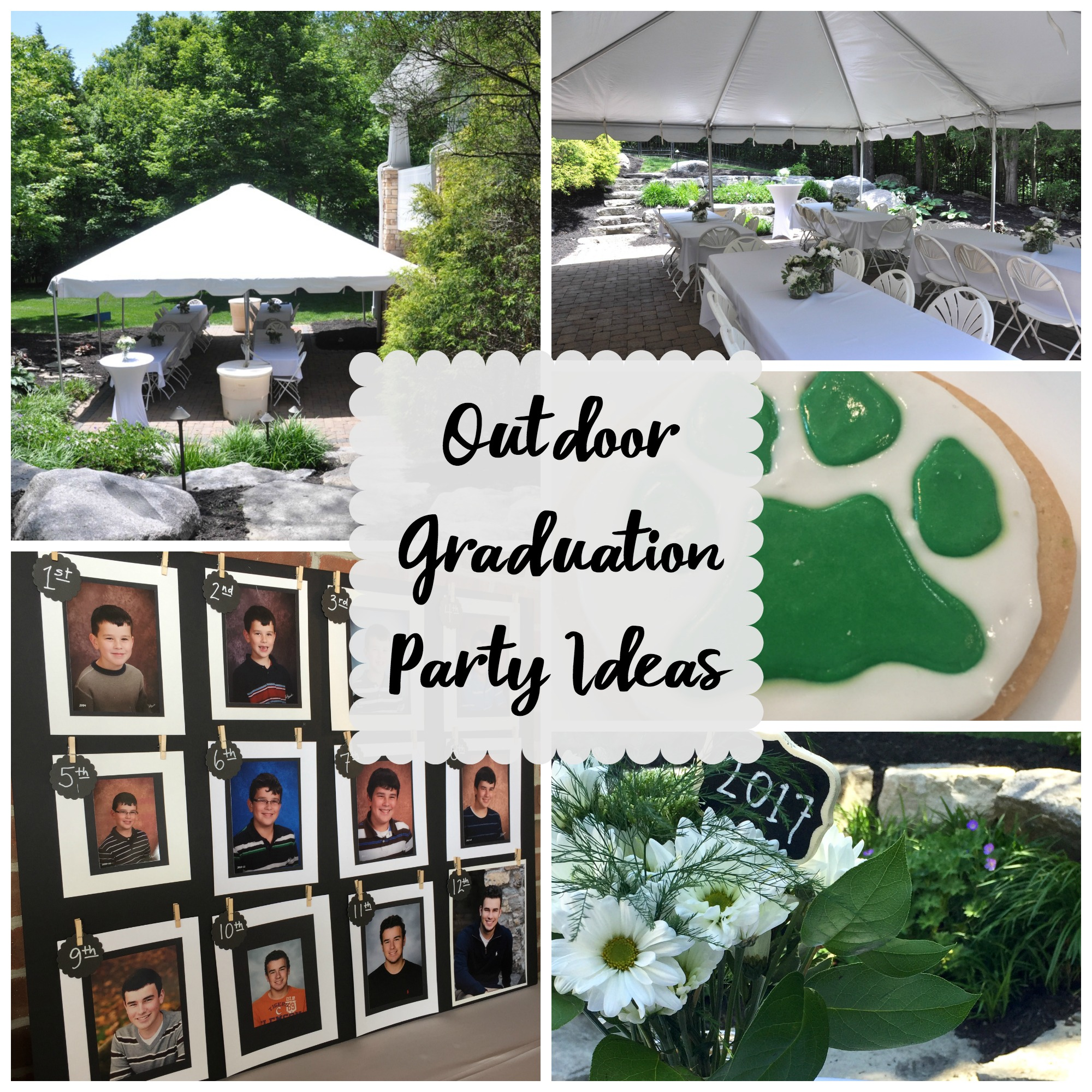 Graduation Party Ideas: Outdoor Graduation Party