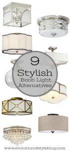 Builder Grade Lighting Alternatives