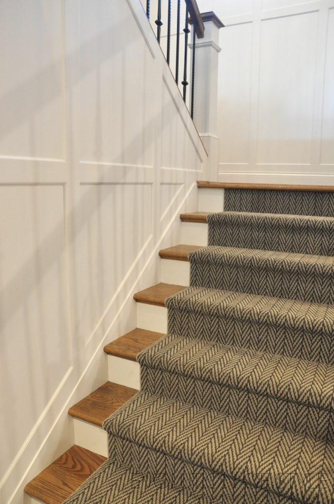 Wainscot Staircase
