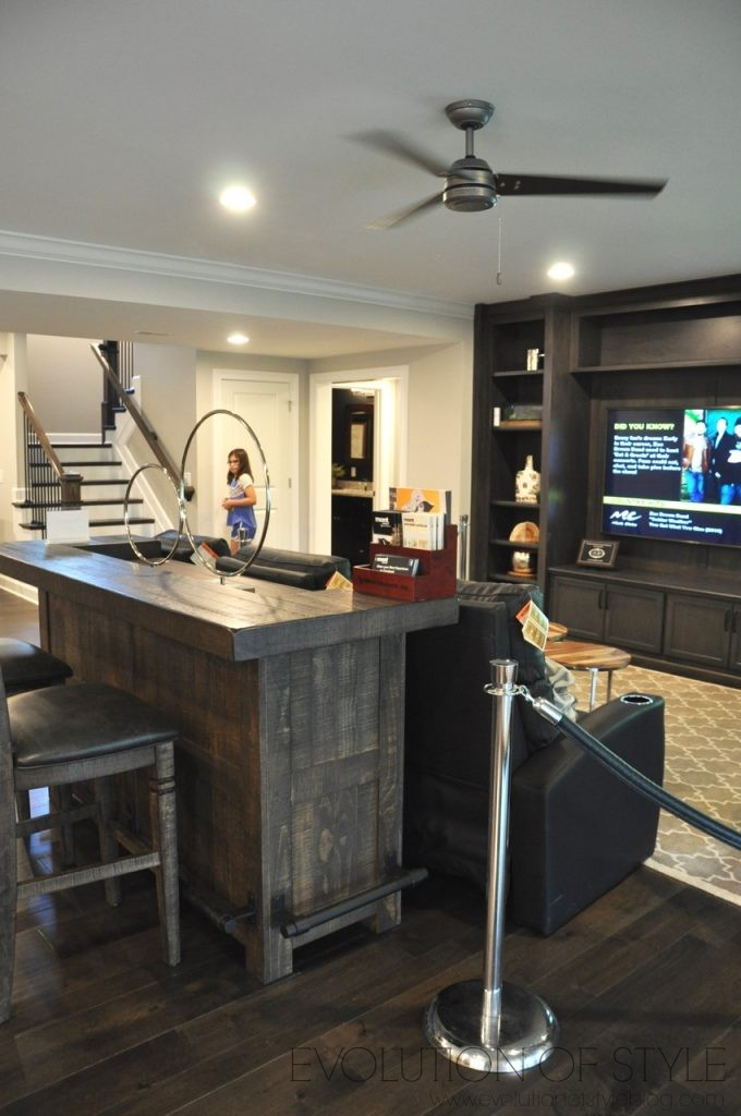 Homearama 2017: Finished Basement