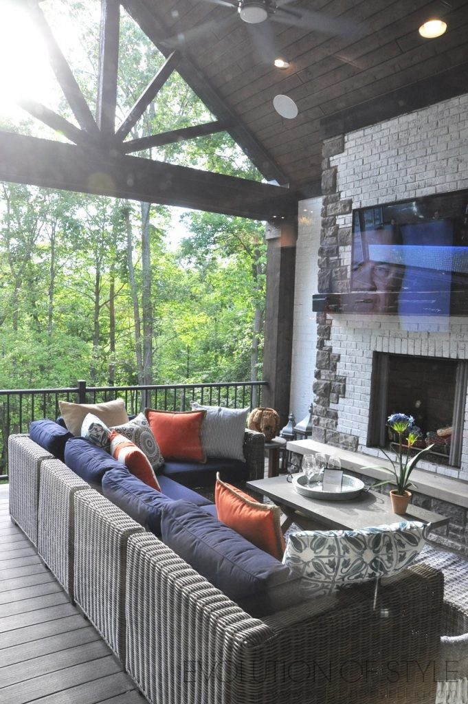 Homearama 2017: Outdoor Porch