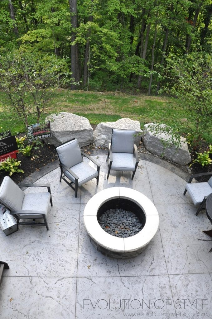 Homearama 2017: Outdoor Fire Pit