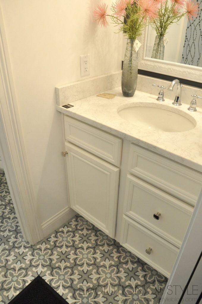 Homearama 2017: Patterned Tile Bathroom