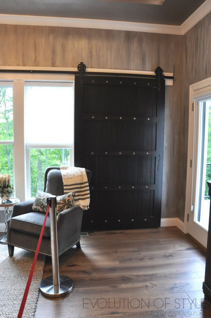 Homearama 2017: Master Bedroom with Barn Doors