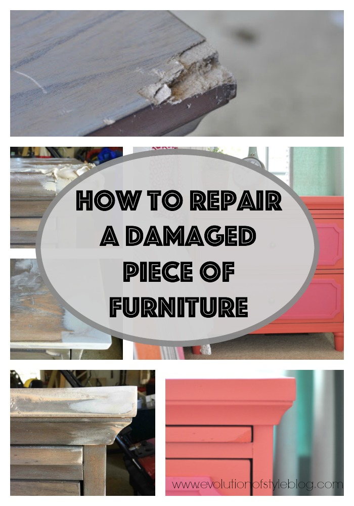 How To Fix A Damaged Piece Of Furniture