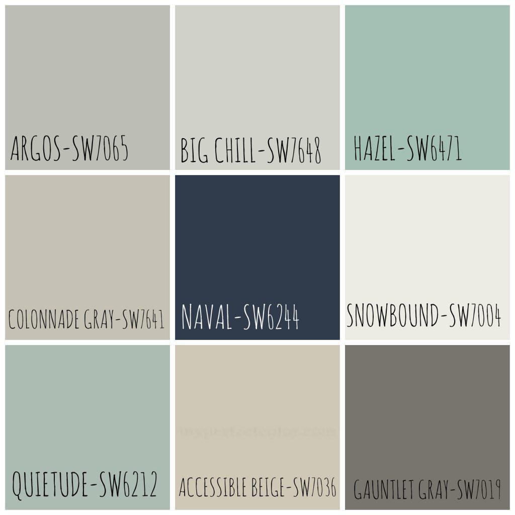 Homearama Color Palette