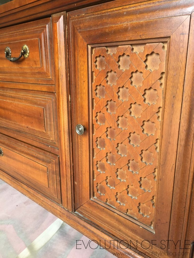 Kent Coffey Dresser Detail