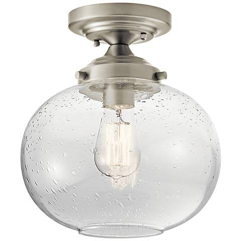 Builder Grade Lighting Alternatives - Seeded Glass Globe