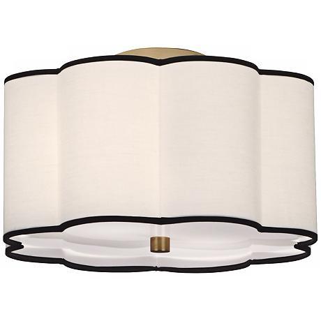 Scalloped Light Fixture