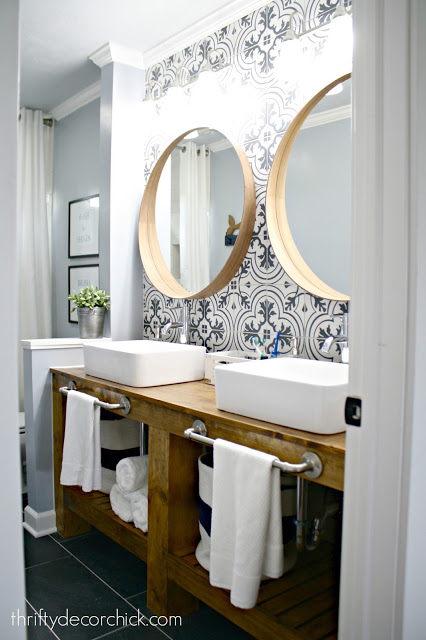 TDC Bathroom Makeover
