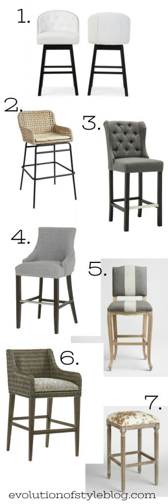 The Hunt for the Perfect Barstool