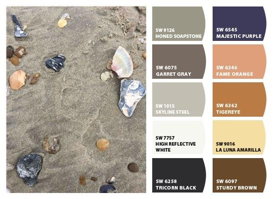 Sherwin Williams Beach Color Palette