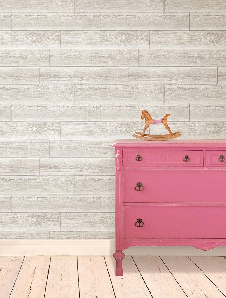 Wood Peel and Stick Wallpaper