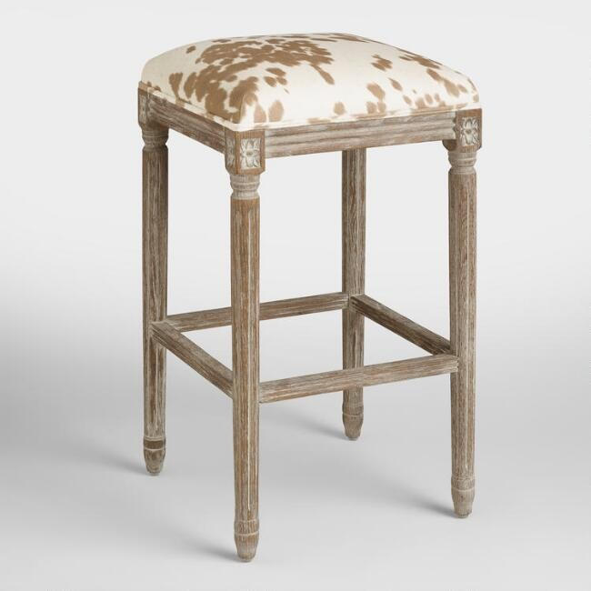 The Hunt for the Perfect Barstool - World Market Backless Barstool