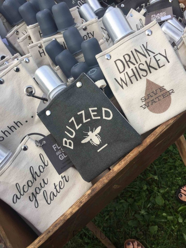 Country Living Fair Flask Bags