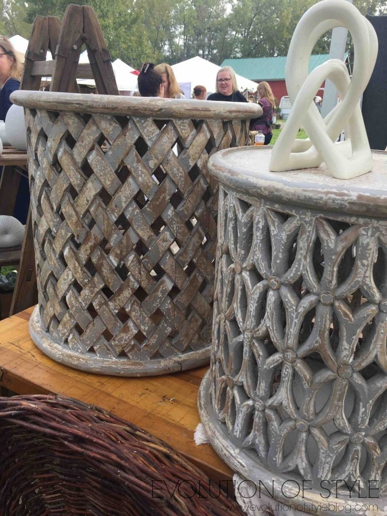 Country Living Fair Side Tables