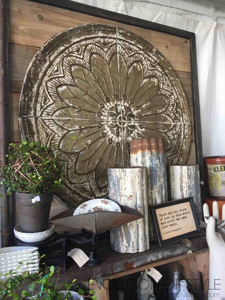 Country Living Fair Vignettes