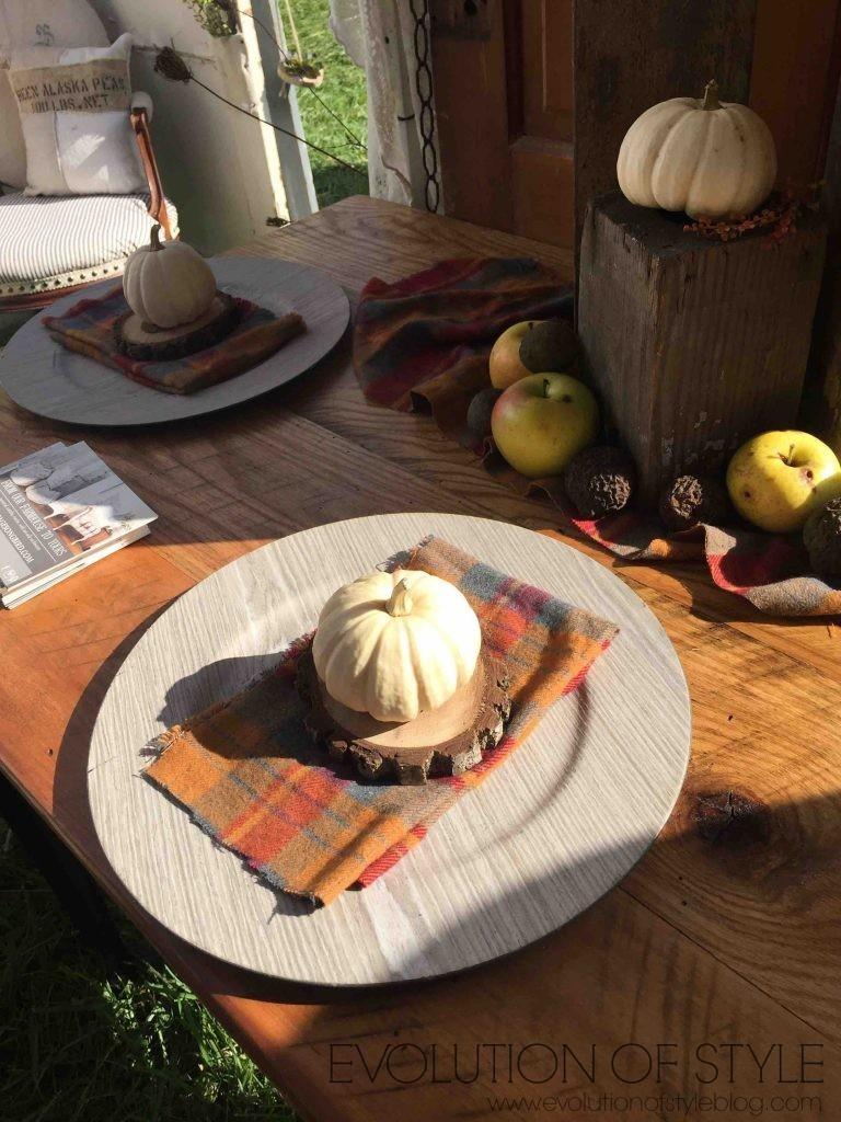Country Living Fair Wood Slice Decor