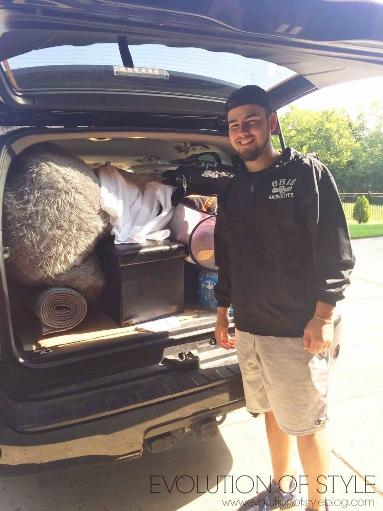 Leaving for college