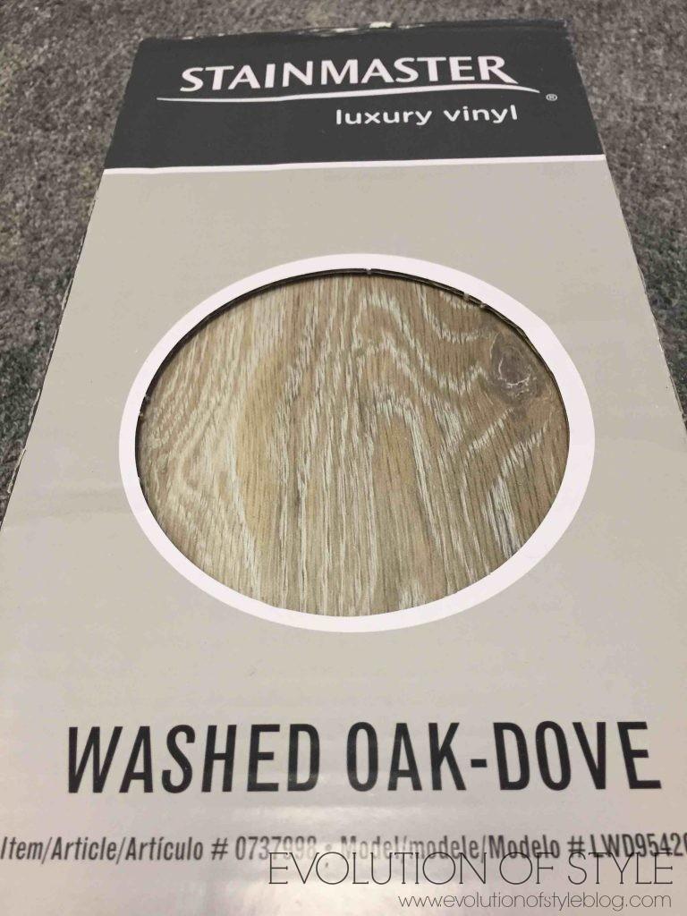 Washed Oak Vinyl Flooring