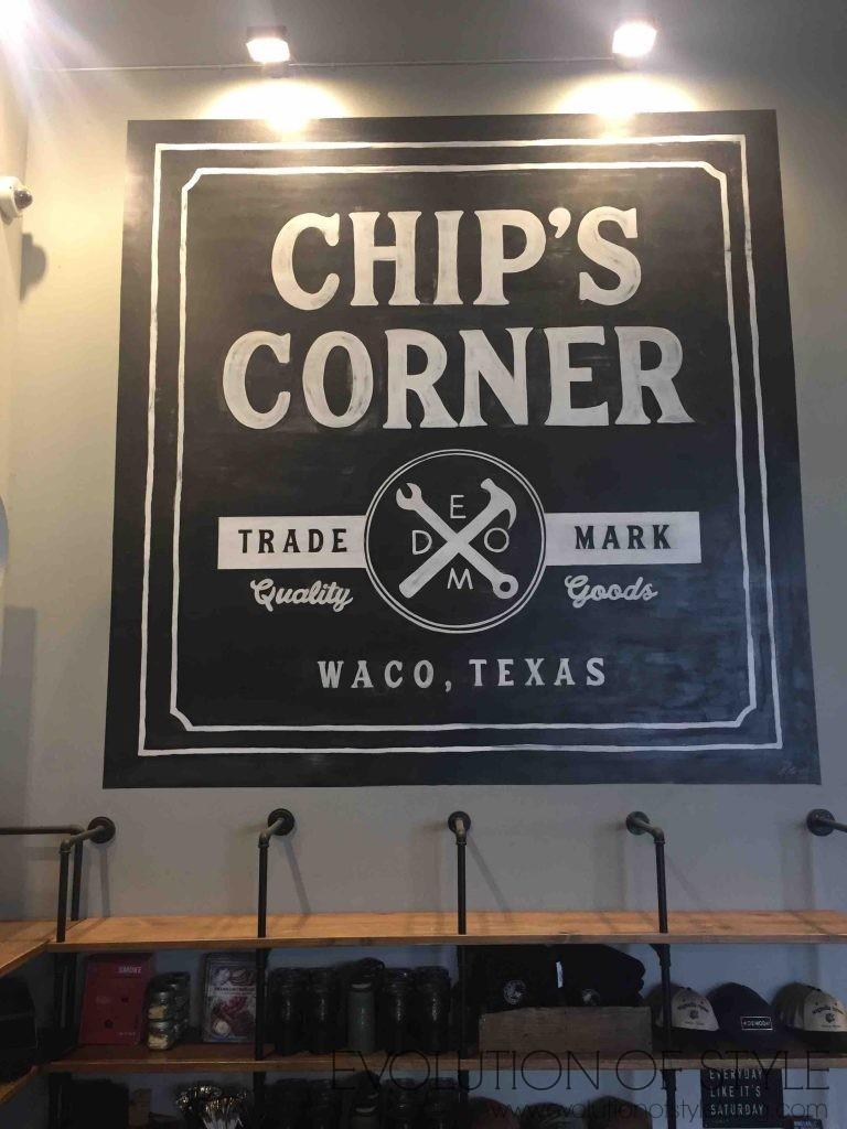 Chip's Corner Magnolia Market