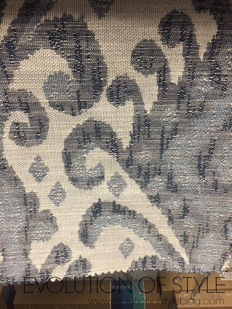 One Room Challenge: Choosing Fabric