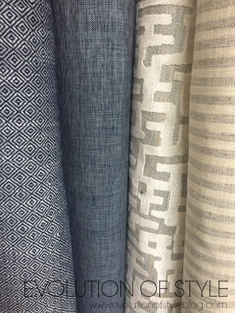 One Room Challenge: Choosing Fabric