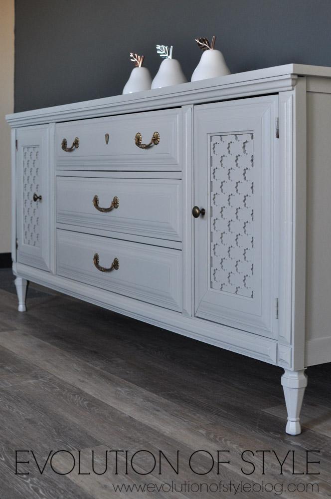 Flannel Gray Dresser Redo