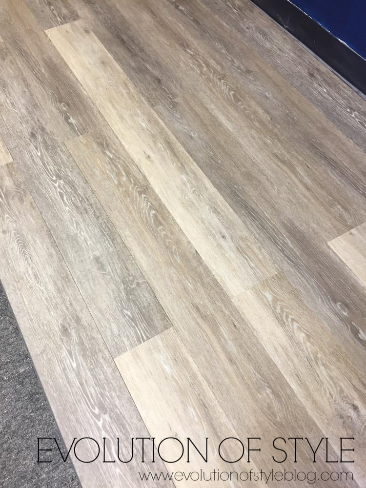 Luxury Vinyl Wood Look Flooring