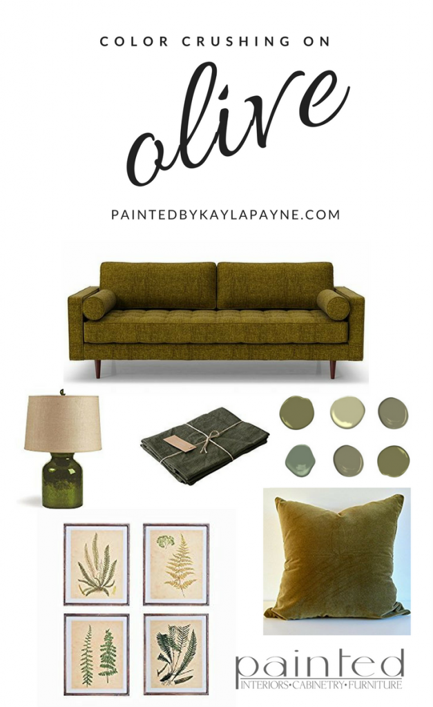 Olive Color Crush