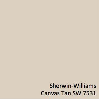 Canvas Tan Sherwin Williams
