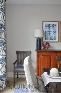 One Room Challenge Reveal Day: A Navy Inspired Dining Room