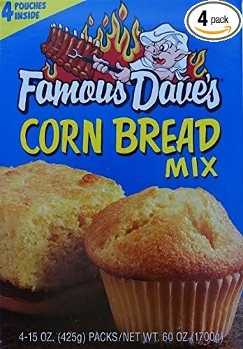 Famous Dave Cornbread Mix