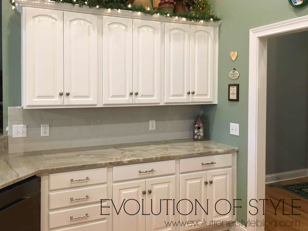 Oak Kitchen Makeover Before and Afte