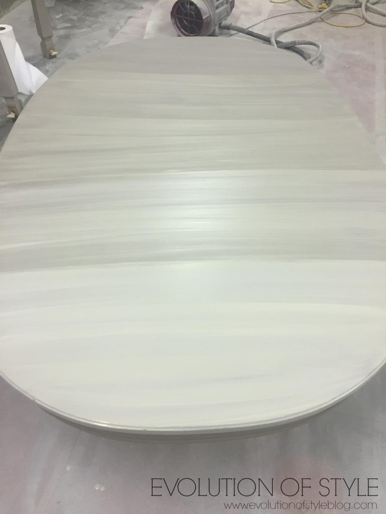 Whitewash Table
