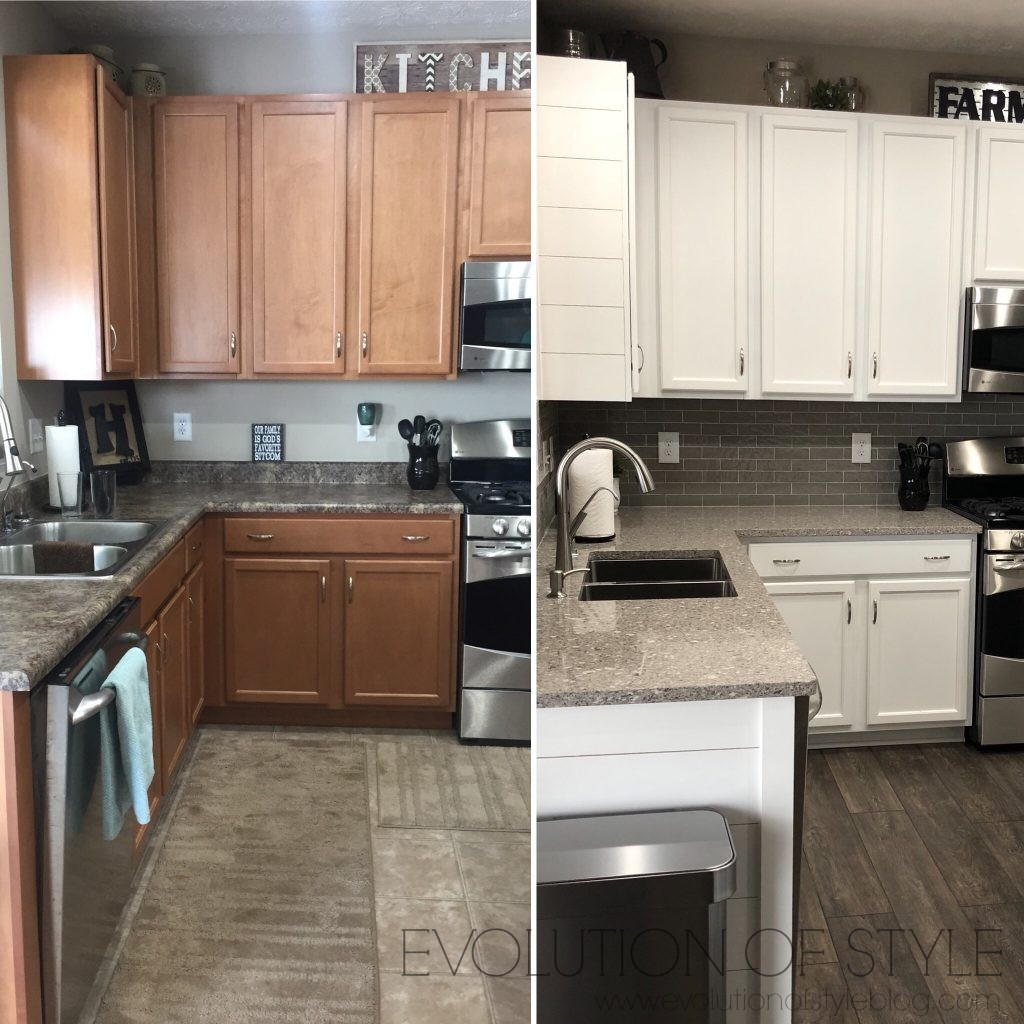Evolution of Style - Complete Kitchen Refresh Before-After