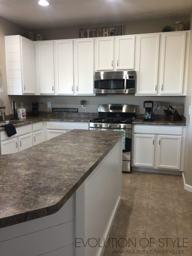 Evolution of Style - Complete Kitchen Refresh Painted