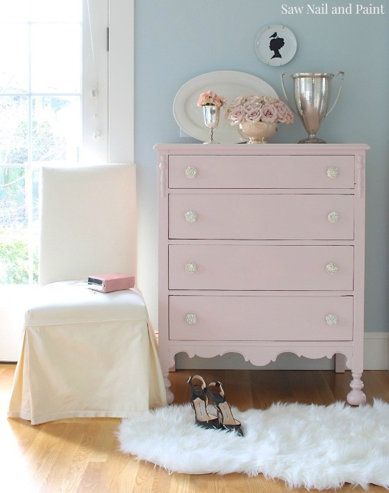 General Finishes Blush Dresser
