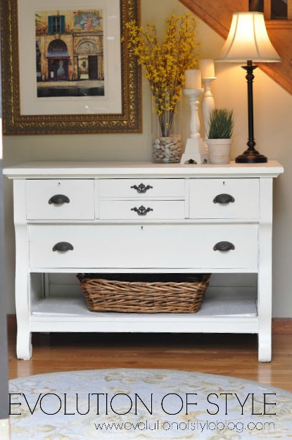 Empire Dresser Makeover - After