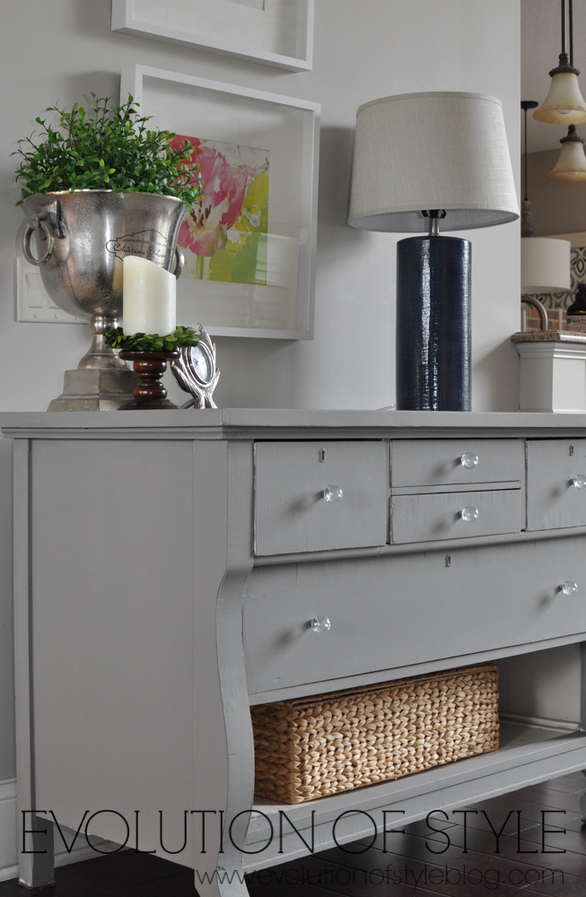 Magnolia Home Dresser Makeover - Evolution of Style