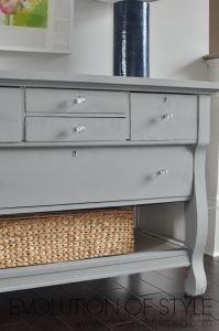 A Dresser Update with Magnolia Home Chalk Style Paint