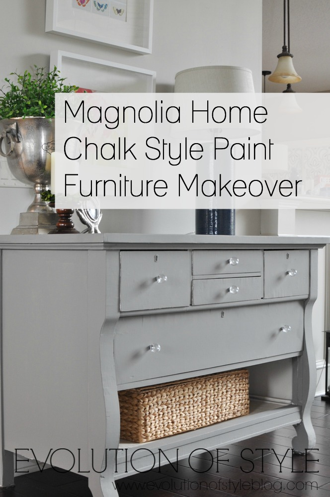 A dresser update with magnolia home chalk style paint evolution of style Magnolia home furniture online