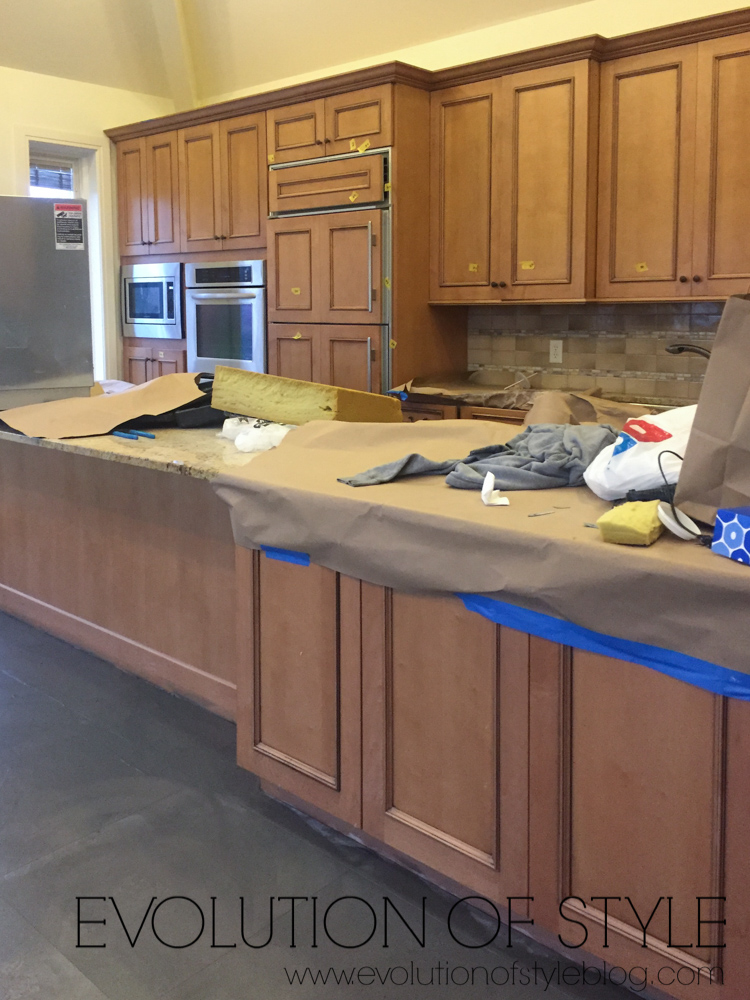 Huge Painted Kitchen Transformation