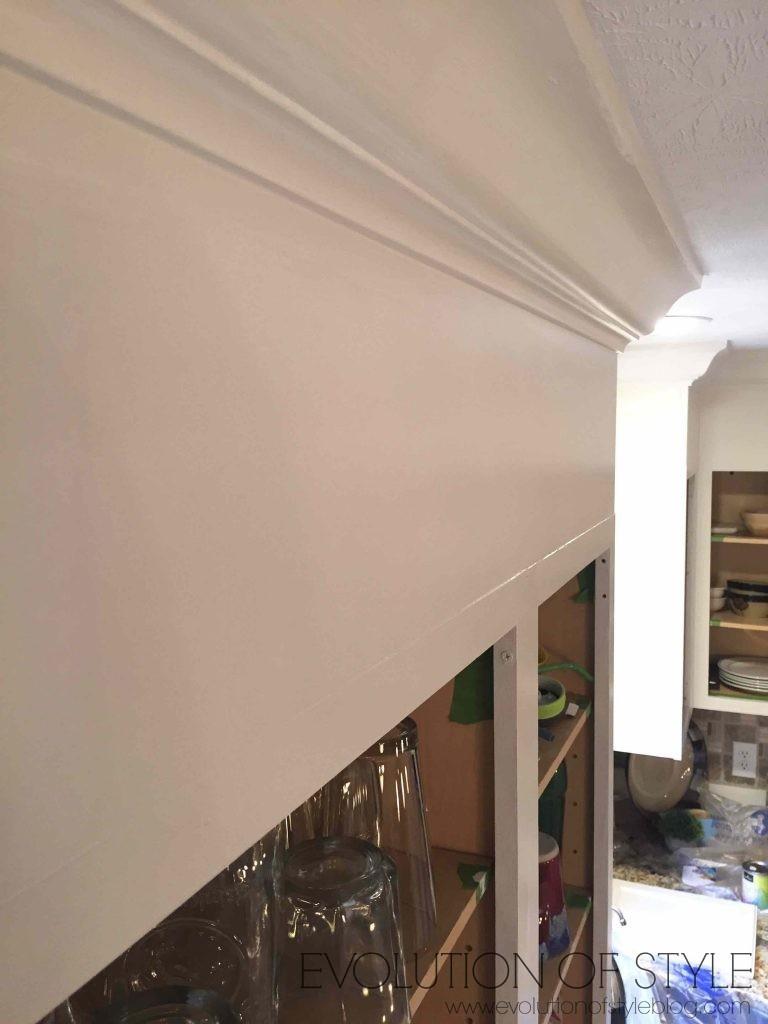 Oak Cabinet Cabinet Trimmed Out