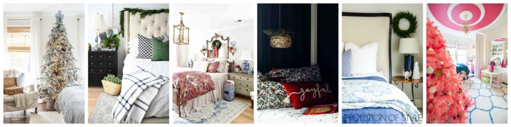 closeups of other homes decorated for christmas on the christmas home tour